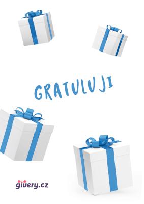 Gratuluji - dáreček