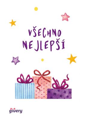 Všechno nejlepší - dárky