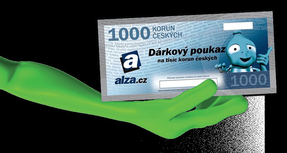 Dárkový poukaz Alza